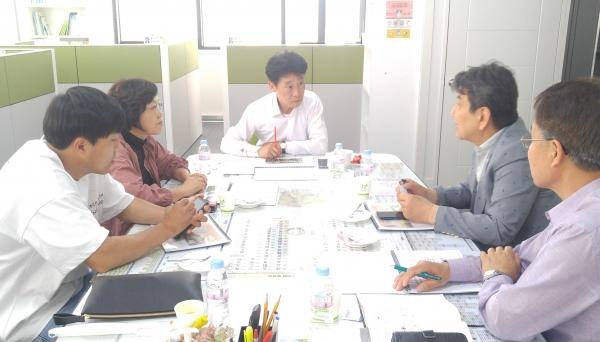 김경근 의원, 장애인 농업교육사업 관련 협의 (제공=경기도의회)